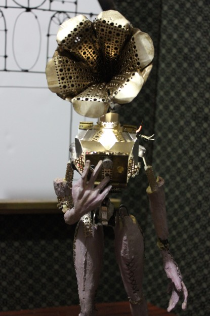 """""""The Gramophone machine"""" Final Stop Motion Puppet 2"""