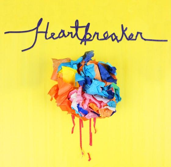 """""""heartbreaker"""" Single cover art"""
