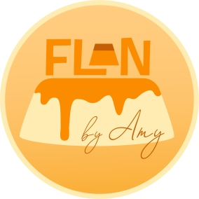 """Flan by Amy"" Logo Concept"