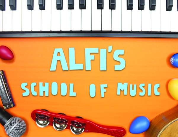 """Alfi's School fo Music"" Promotional advertisment"